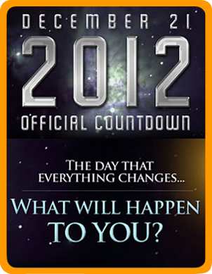 Logo for official countdown to what will happen in 2012